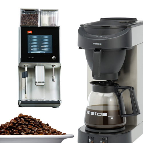 Coffee brewing machines