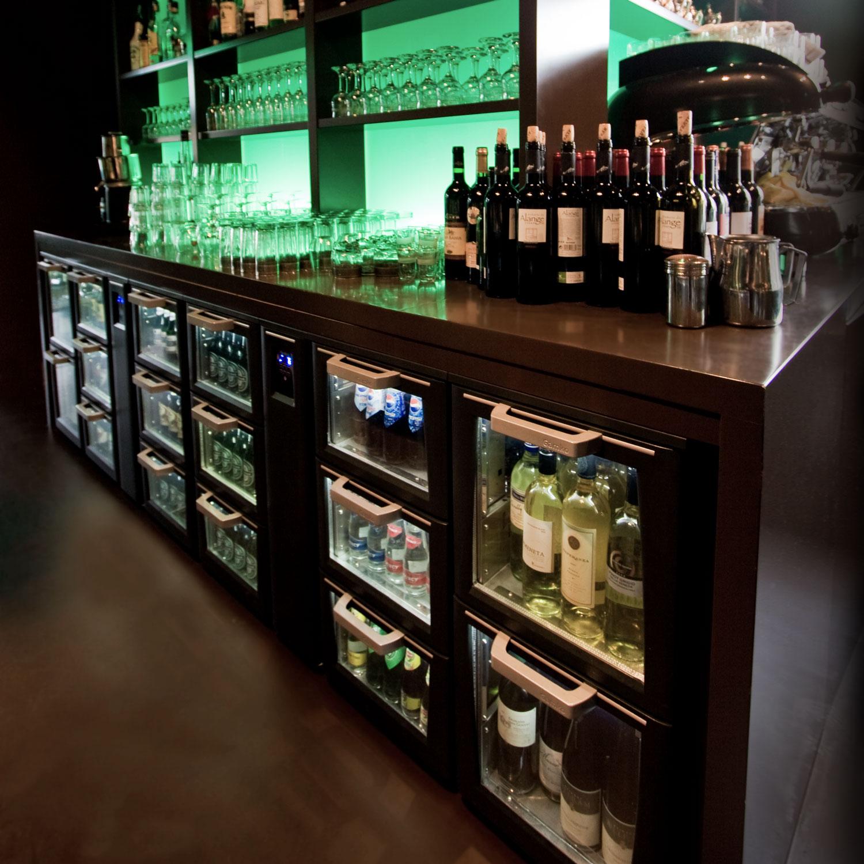 Flexbar bar cooler system