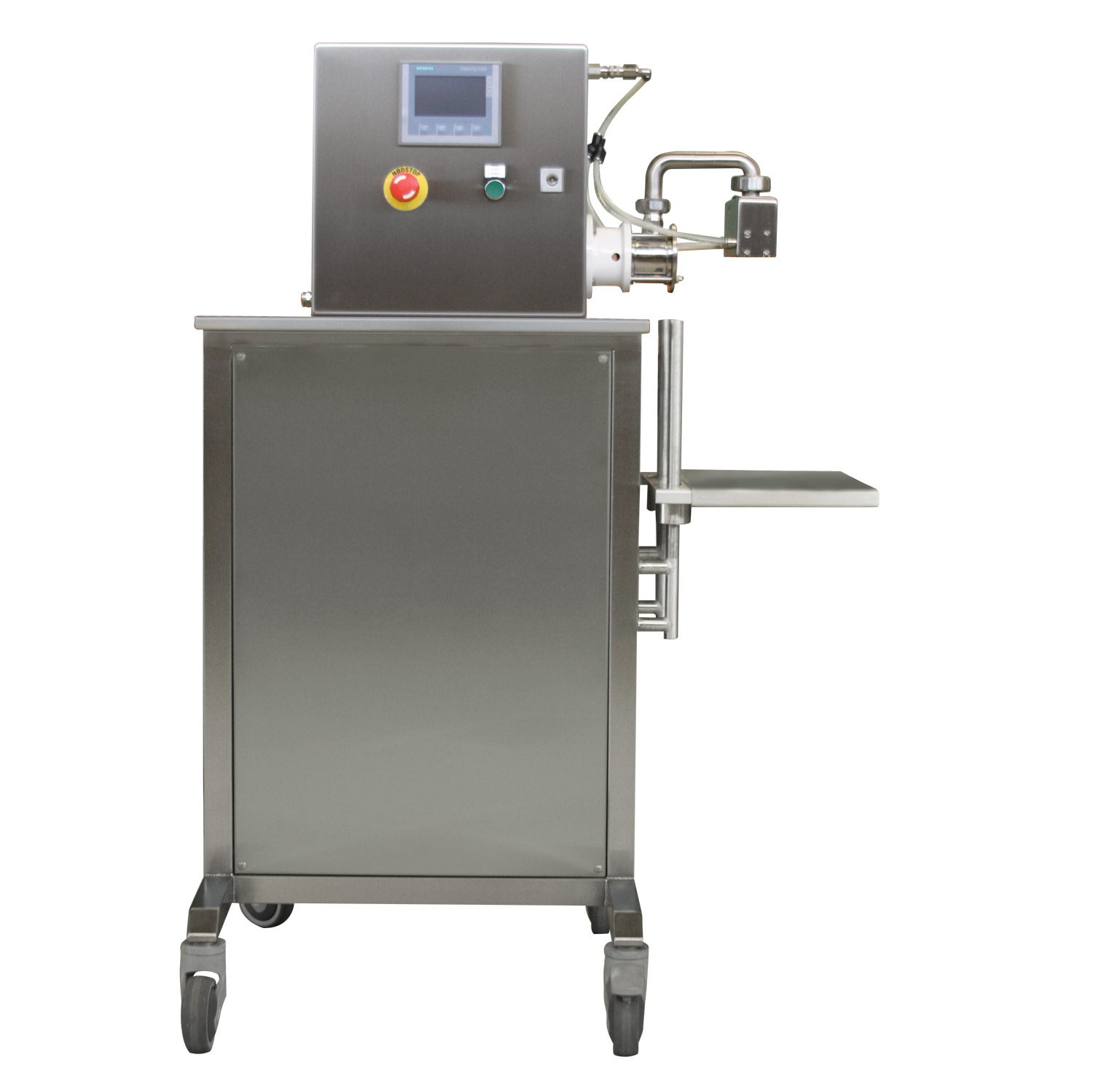 Hot Fill DOS-1 annosteluun ja pussitukseen. / Hot Fill DOS-1 for dosing and packing liquids.