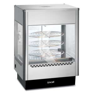 Pizza glass displays