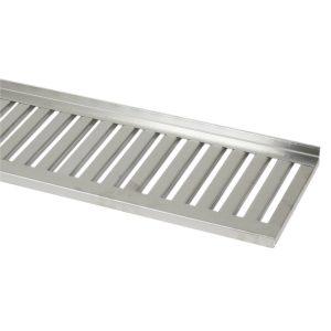 Grid shelves 400 mm, stainless steel
