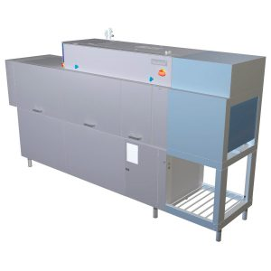Options for Metos rack conveyor machines
