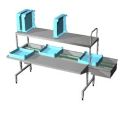 Automatic basket sorting units