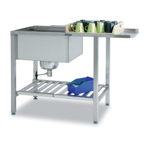For hood type dishwashers